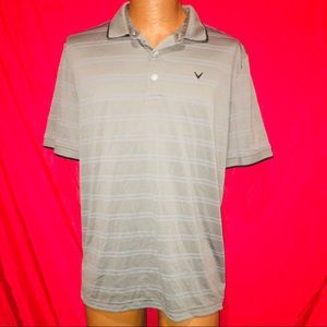 CALLAWAY MENS MEDIUM GOLF POLO SHIRT